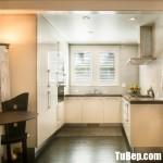 Tủ bếp gỗ Acrylic thiết kế chữ U đầy đủ tiện ích _ TBT3497