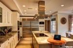 Tủ bếp gỗ Xoan Đào màu trắng sơn men chữ L – TBT3760