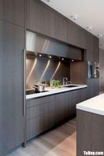 Tủ bếp Laminate dạng chữ I phong cách hiện đại – TBB4863