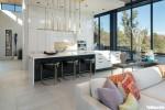 Tủ bếp gỗ laminate thiết kế hiện đại có bàn đảo – TBT3843