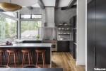 Tủ bếp gỗ Acrylic thiết kế sang trọng hiện đại– TBT3911