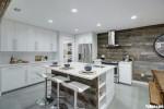 Tủ bếp gỗ Acrylic thiết kế sang trọng hiện đại– TBT3897