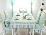 Thay đổi không khí phòng ăn chỉ với bước đơn giản: Thay khăn trải bàn