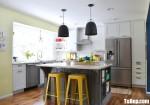 Tủ bếp gỗ Căm Xe thiết kế bán cổ điển chữ L – TBT4094