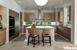 Tủ bếp gỗ Laminate thiết kế sang trọng hiện đại – TBT4177