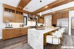 Tủ bếp gỗ Laminate thiết kế hiện địa sang trọng – TBT4350